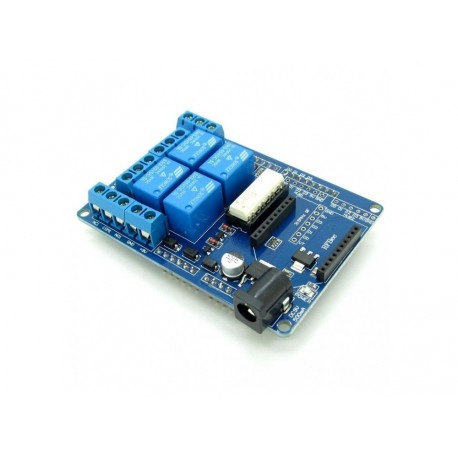 شیلد رله 4 کانال آردوینو Arduino Relay Shield