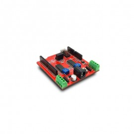 شيلد استپرموتور Arduino Dual Step Motor Driver Shield